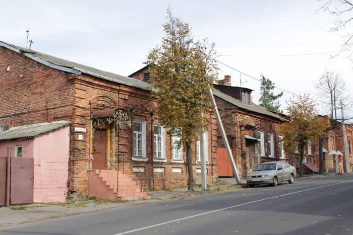 Дома на улице Грибоедова. Фото Анастасии Вереск