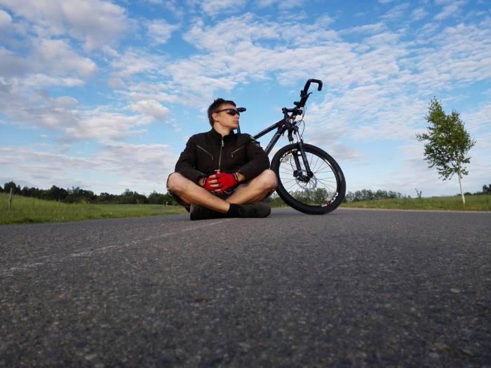 велосипед велосипедист
