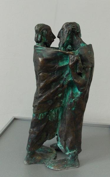 Духоменок, проповедь, скульптура, Корженевский