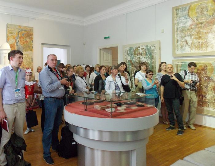 Витебск, стенопись, фрески
