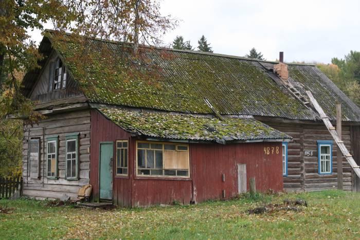 Дом в Оршанском районе. Фото Ольга Витебская