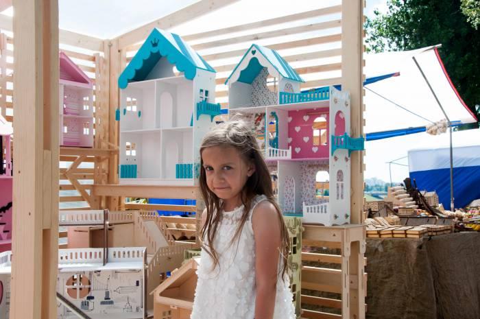 Домики для принцессы. Фото Анастасии Вереск