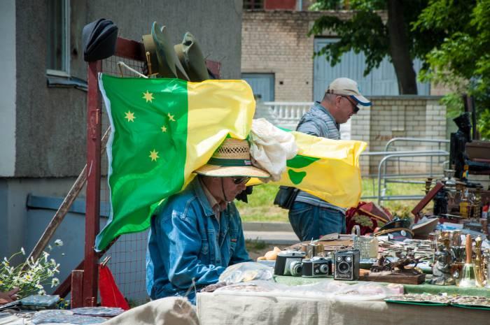 Под флагом ветра. Фото Анастасии Вереск