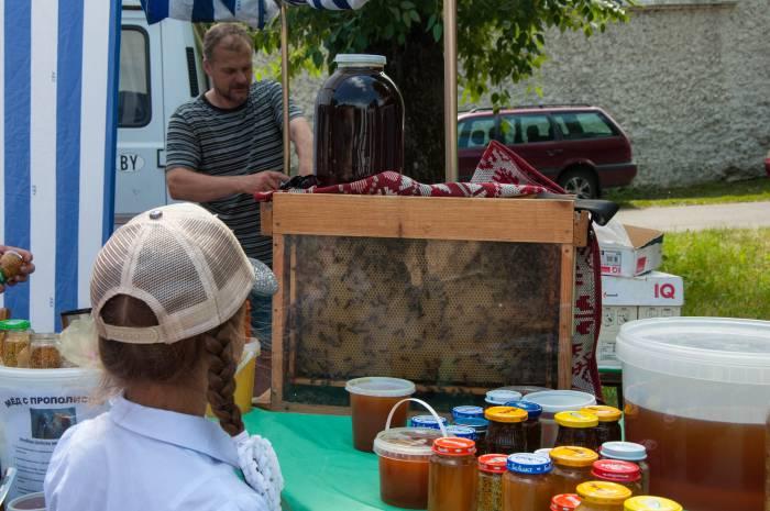 Хочешь пчел, а хочешь - мед. Фото Анастасии Вереск