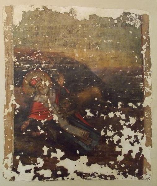фреска, стенопись, Полоцк, православие, Корженевский