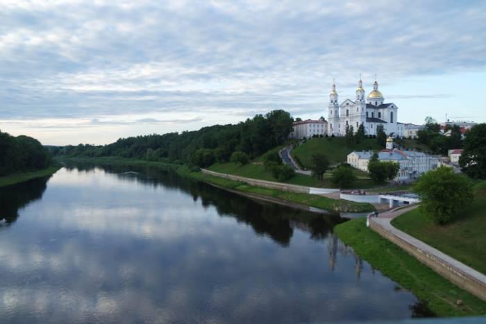 Вид с Кировского моста. Фото Анастасии Вереск