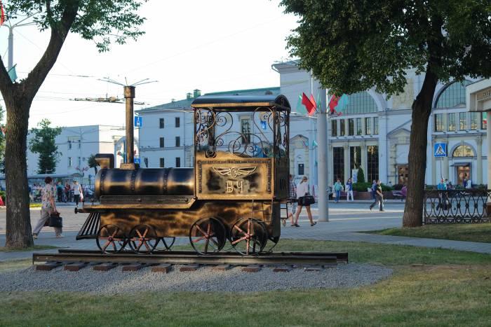 Новое украшение вокзала. Фото Анастасии Вереск