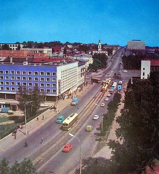 "Синий дом, конец 1970-х — начало 1980-х. Фото из группы ""Таямніцы Віцебска"""