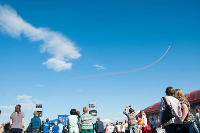 В небе над праздником. Фото Анастасии Вереск
