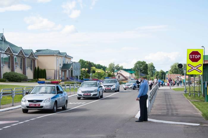 Дорогу перекрывали. Фото Анастасии Вереск