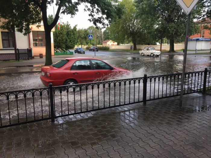 Улицы в Бресте. Фото из соцсетей