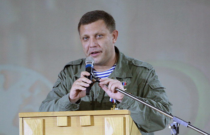 Глава Донецкой народной республики Александр ЗахарченкоФото: ТАСС, Александр Кравченко