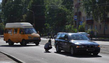 Участники ДТП. Фото Анастасии Вереск