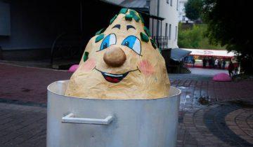 Веселая картошечка для вашего фото. Фото Анастасии Вереск
