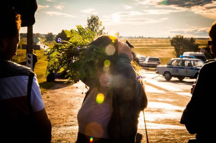 В этот праздник без венка никак не обойтись. Фото Анастасии Вереск