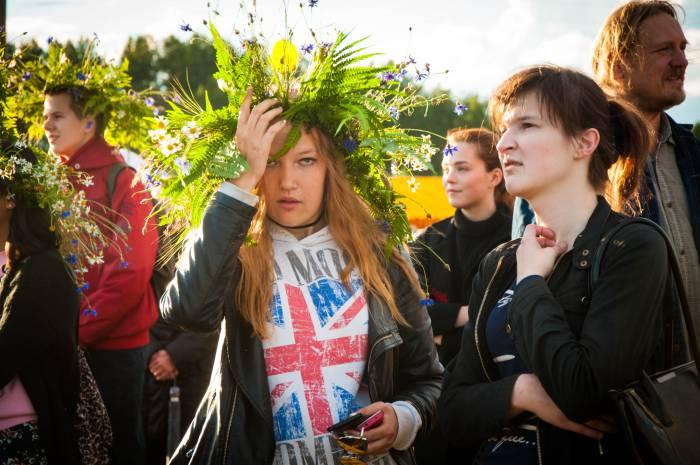 На празднике выбирали Купалинку. Фото Анастасии Вереск