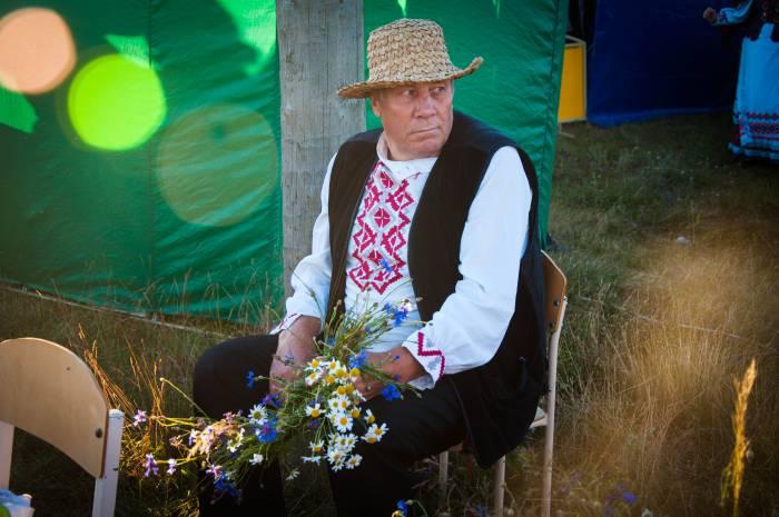 Колоритный хозяин агроусадьбы. Фото Анастасии Вереск