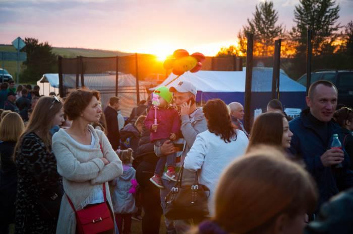 Волшебная атмосфера праздничного Лепеля. Фото Анастасии Вереск