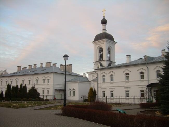 Спасо-Евфросиниевский монастырь в Полоцке. Фото Евгении Москвиной