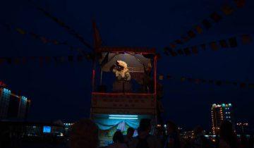 Славянские танцы на площади Победы. Фото Анастасии Вереск