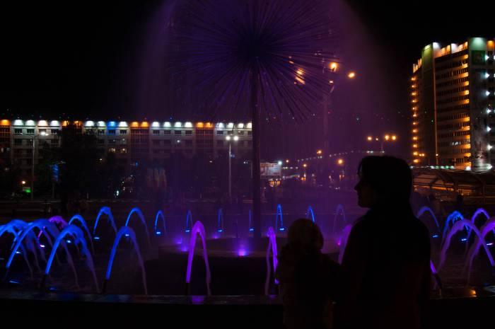 Волшебство полуночного Витебска. Фото Анастасии Вереск