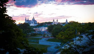вечерний Витебск. Фото Анастасии Вереск