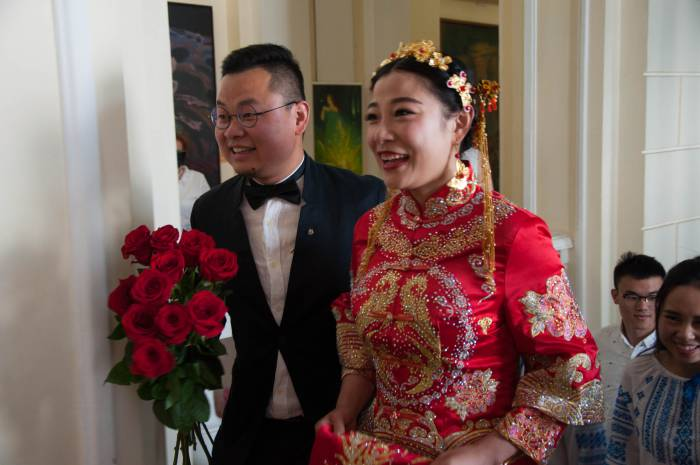 Ян Ли Мин и Гао Ли Бин. Фото Анастасии Вереск