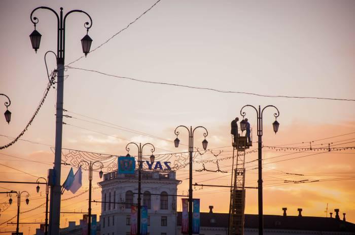Романтика вечернего Витебска. Фото Анастасии Вереск