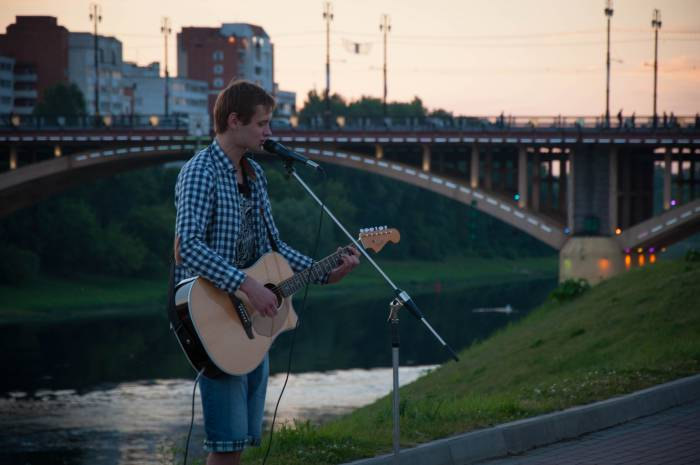Музыка набережной. Фото Анастасии Вереск