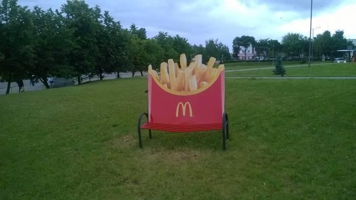 Какие отношения, такая скамейка? Фото Анастасии Вереск