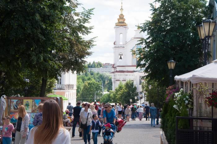 Здесь раньше гуляла огромная толпа народа. Фото Анастасии Вереск