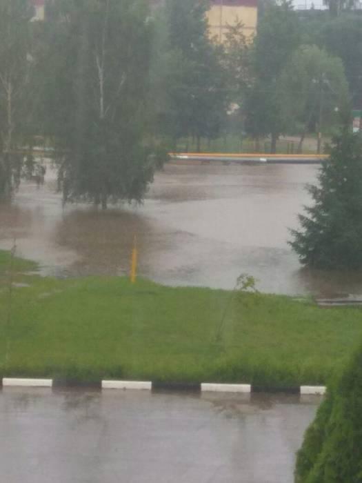 затопило Чашники Фото Саша Жевноjpg