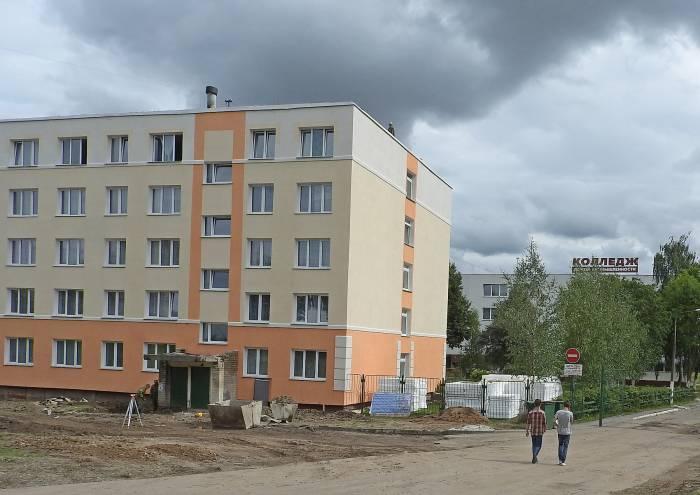 Общежитие колледжа на улице Гагарина 39. Фото Светланы Васильевой