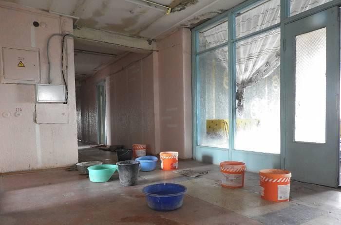 Потоп в студенческом общежитии. Фото Светланы Васильевой