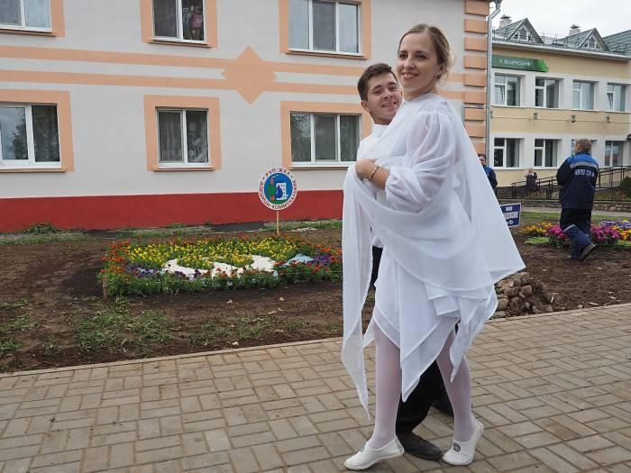 Защита проекта от команды из Докшиц. Фото Светланы Васильевой