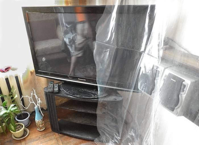 Телевизор после потопа. Фото Светланы Васильевой