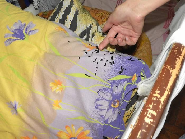 И на постельном белье ребенка. Фото Светланы Васильевой