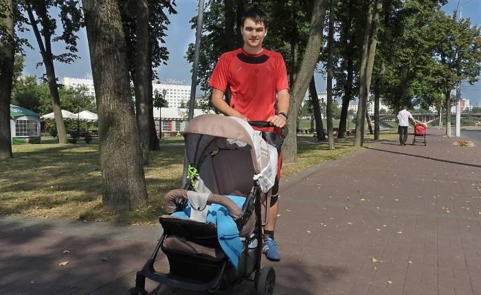 Юрий с дочкой Кристиной. Фото Светланы Васильевой