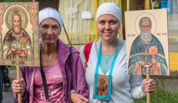 Крестный ход «Наш общий путь – Одигитрия». Фото Светланы Васильевой