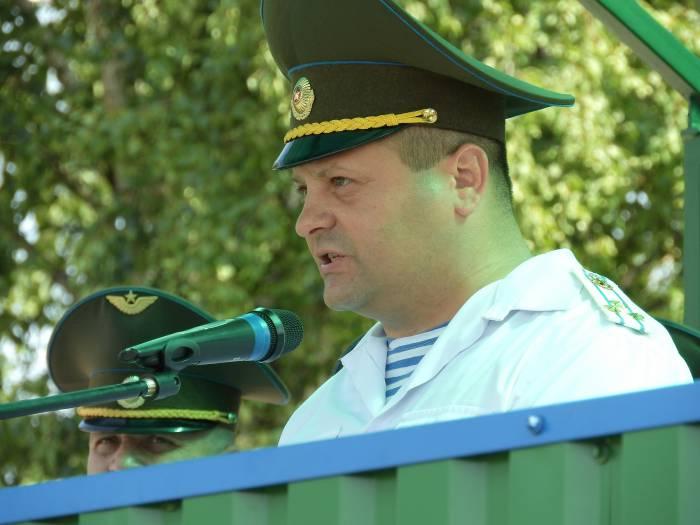 Командир 103-й бригады Вадим Шадура. Фото Светланы Васильевой
