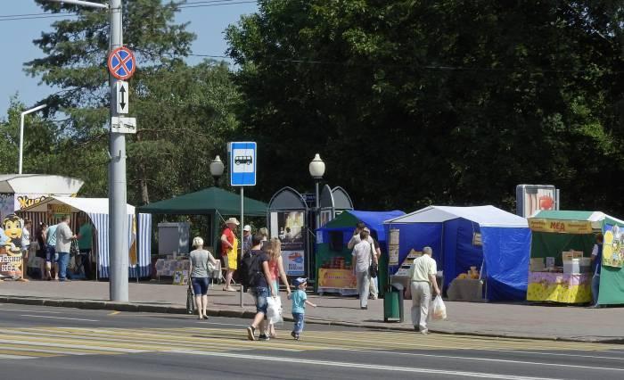 «Медовая ярмарка» в Витебске. Фото Светланы Васильевой