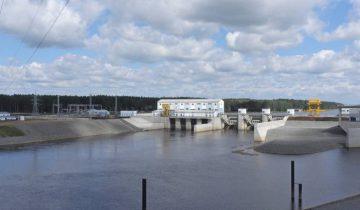 Витебская ГЭС за день до официального открытия. Фото Светланы Васильевой