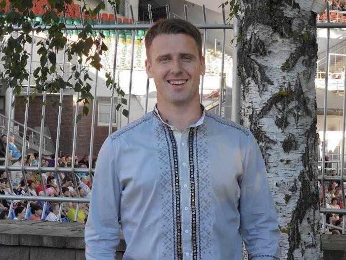 Александр Щербаков – певец, композитор, руководитель ансамбля «Ярилов Зной». Фото Светланы Васильевой
