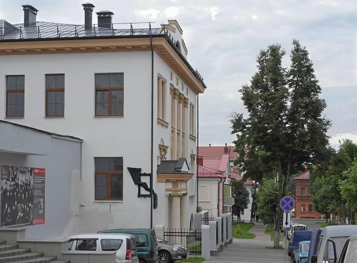 История витебского здания по улице Шагала, 5