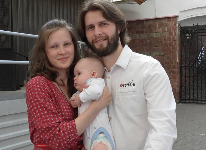 Участники из Санкт-Петербурга - папа и сын Александры, а мама Сашенька. Фото Светланы Васильевой