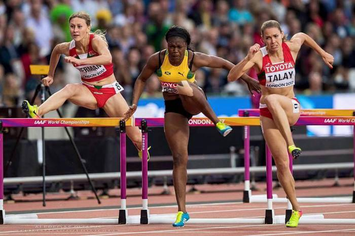Алина Талай на чемпионате мира в Лондоне. Фото facebook