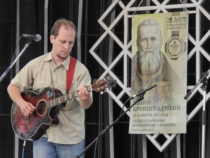 Дмитрий Коновалов из Великого Новгорода. Фото Светланы Васильевой