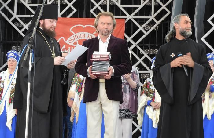 Награждение победителей и лауреатов православного фестиваля «Одигитрия». Фото Светланы Васильевой