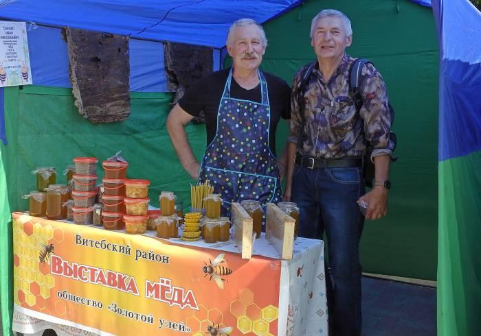 Летняя ярмарка - самое надежное место для приобретения качественной продукции пчеловодства. Фото Светланы Васильевой