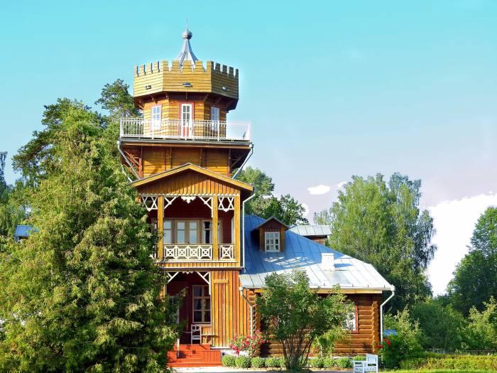 Репинская «дача» в 16 километрах от Витебска. Фото Светланы
